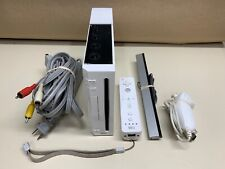 Wii CONSOLE /CABLES /CONTROL RVL-001 WHITE GAMECUBE COMPATIBLE *WORKING* CLEANED