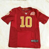Nike Stitched NFL Washington Redskins #10 Griffin III 80th anniversary Jersey M