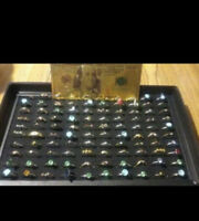 US SELLER☆GREAT☆GIFT☆GOLD Rep.*$100+25 GOLD/SILVER Layered RINGS~FAST S&H IN US