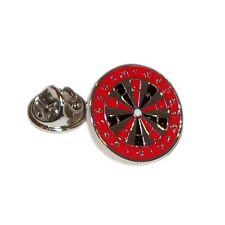 Dartboard in red, Darts pub game  Pin Badge Tie Pin / Hat / Lapel Badge