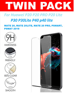 FOR Huawei P20 P30 P40 Pro Lite Tempered Glass Screen Protector Premium NEW