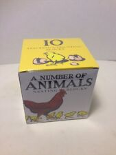 A Number of Animals Nesting Blocks by Kate Green Christopher Wormell's NEW 2013