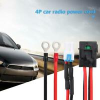 Pin Car Radio Power Supply Cord Cables for ICOM IC-7000 IC-7600/ FT-450/TS-480