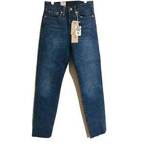 Levi's Wedgie Fit High Rise Blue Jeans