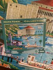 "Heronim Hometown Collection Puzzle ""Catalina"" 1000 Piece Complete & ""Solvang"""