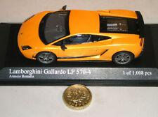 Articoli di modellismo statico arancione MINICHAMPS per Lamborghini