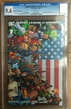Justice League of America #1 Retailer Incentive 1:500 CGC 9.6