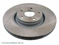 BLUE PRINT BRAKE DISCS FRONT PAIR FOR A TOYOTA AVENSIS BERLINA