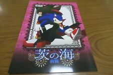 SONIC THE HEDGEHOG Doujinshi Sonic , Shadow (A5 22pages) Kakudaikyo Ibara no umi