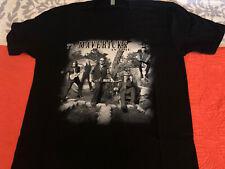 The Mavericks Large Black V Neck In Time T-Shirt Short Sleeve Never Worn