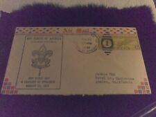 Old Air Mail Envelope 1933 Boy Scout Century of Progress