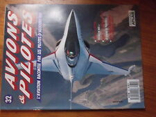 $$ Fascicule Avions & Pilotes N°32 Sabre Vietnam  Postale de nuit  Boeing 707