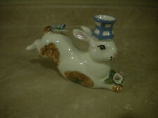 Vintage Paper Windows Usa Bunny Rabbit Candle Holder