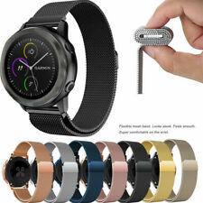 For Samsung Galaxy Watch Gear S2 S3 Active2 Milanese Magnetic Stainless Bands