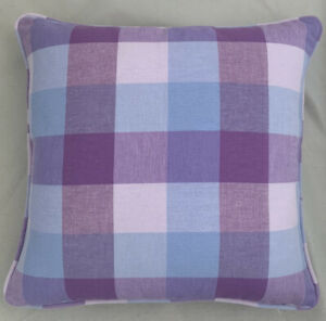 A 16 Inch cushion cover in Laura Ashley Mitford Lilac Fabric