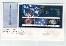 1992 International Space Year FDC  Mini Sheet