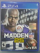 N) Madden NFL 25 (Sony PlayStation 4, 2013) Video Game
