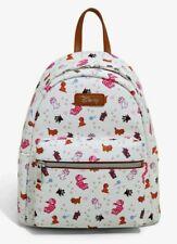 new Loungefly Disney Cats mini backpack bag Aristocats Wonderland Cheshire Cat