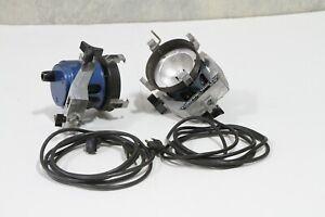 2x Colortran Mini-Pro 650w lights.