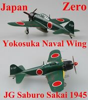Easy Model 1/72 Japan Zero A6M5C Yokosuka Naval Wing,JG Saburo Sakai 1945 #36353
