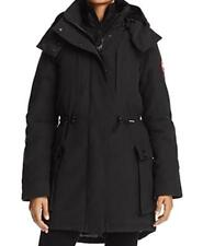 1*05 NEW Canada Goose Black Perley Shearling Trim 3-in-1 Down Parka Wms Sz M