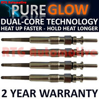 4X FOR BMW 1 SERIES 118 120 E87 2.0 DIESEL HEATER GLOW PLUGS GP54702
