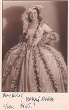MARGIT BOKOR opera soprano signed photo as Sophie in Der Rosenkavalier
