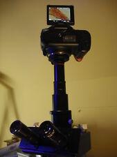 CANON EOS mount 2 0.5 relay lens 2 Leica 35 mm Trinocular microscope ADAPTE