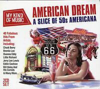 MY KIND OF MUSIC AMERICAN DREAM - 2 CD BOX SET - A SLICE OF 50s AMERICANA