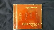 SOPHIA DOMANCICH TRIO (PAUL ROGERS TONY LEVIN) - THE PART DES ANGES. CD