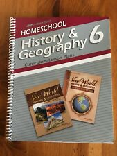 ABeka Homeschool History & Geography 6 Curriculum/Lesson Plans parent Current