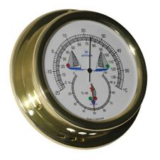 Altitude Bootsport Thermometer Hygrometer Messing