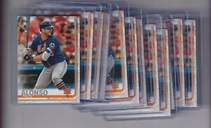 12 ct 2019 TOPPS SERIES 2 PETE ALONSO NEW YORK METS ROOKIE CARD #475 RC LOT