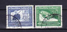 Germany Deutsches Reich 1938 Mi. Nr. 669-670 100th Anniv. birth of Zeppelin USED