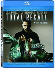 Total Recall (Blu-ray, 2-discs 2012, Canadian)