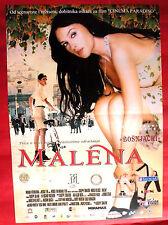 MALENA 2000 SEXY MONICA BELLUCCI SULFARO TORNATORE UNIQUE SERBIAN MOVIE POSTER