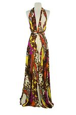VON VONNI Women's Red Jewels Transformer Dress Long One Size VVL101 $120
