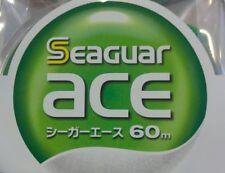 MONOFILO SEAGUAR ACE 60 MT KUREHA 0,405 mm #6 FLUOROCARBON JAPAN LINE PESCA FILO