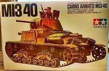 ITALIAN WW II MI3/40 CARRO ARMATO TANK MODEL KIT 1/35 MILITARY SERIES NO. 34