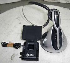 ATT TL7612 Cordless Wireless Headset SEE NOTES