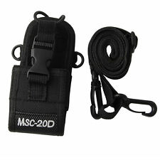 Pouch Holster Bag Case New MSC-20D Nylon For Baofeng Motorola Kenwood Radio HIY
