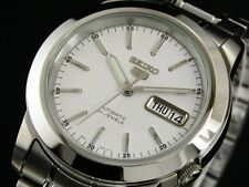 SEIKO 5 SNKE49 SNKE49K1 21 Jewels Automatic White Ready to Ship !