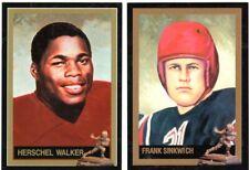 Frank Sinkwich Herschel Walker Georgia Bulldogs Heisman Cards FREE Shipping