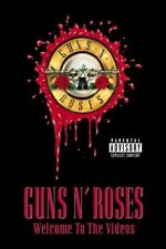 GUNS `N` ROSES 'WELCOME TO THE VIDEOS' DVD NEW+!!!!!!!!!