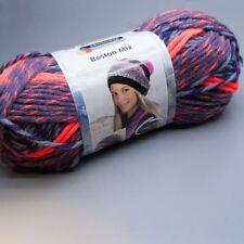 Schachenmayr Boston Mix 086 aubergine color 100g Wolle (11.95 EUR pro 100 g)