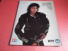 RARE! Michael Jackson Dangerous World Tour Japan Ver. Program Japanese Brochure
