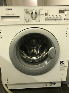 AEG L61470WDBI Wasch/Trocken-Kombigerät - Weiß. Defekt mit Lagerschaden
