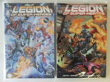 DC Comics - Panini - Legion of Superheroes - Nr. 1-4 - 2012-2013 - Zustand 0-1