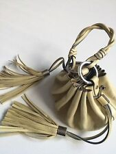 GIVENCHY Tasche Bag Leder Klein Creme Original