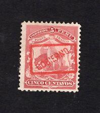 Peru 1895 stamp Mi#Dienst 19 MH  CV=10€
